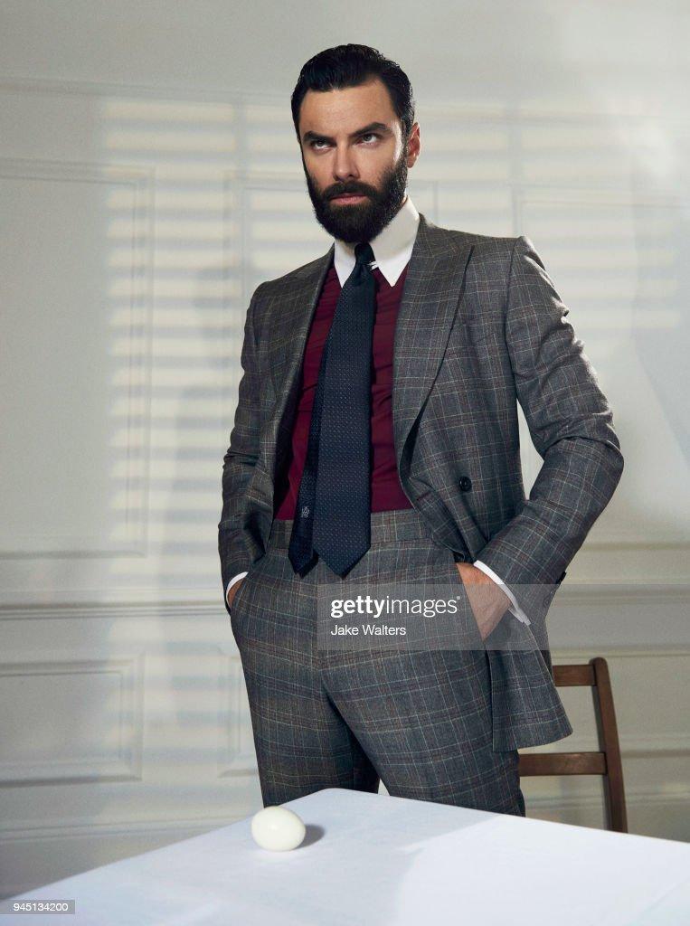 Aidan Turner, GQ magazine UK, January 1, 2018 : News Photo
