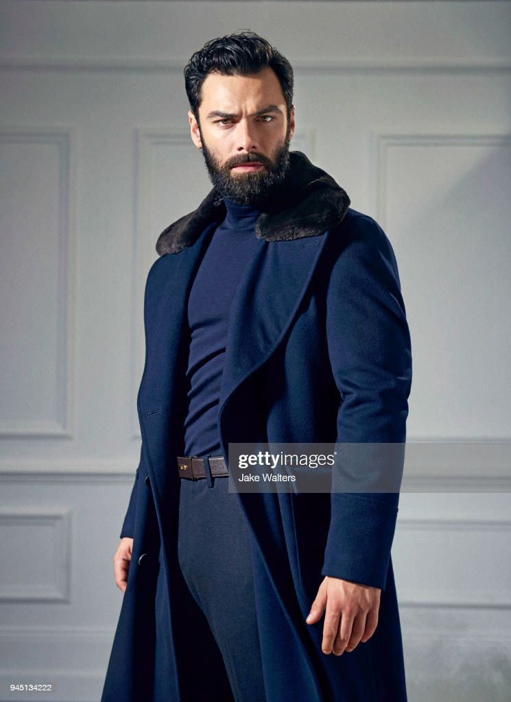 Aidan Turner, GQ magazine UK, January 1, 2018 : News Photo