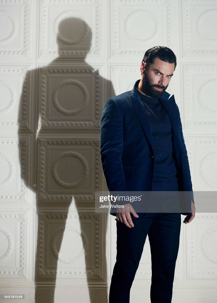 Actor Aidan Turner is photographed for GQ magazine on August 3, 2017 in London, England.