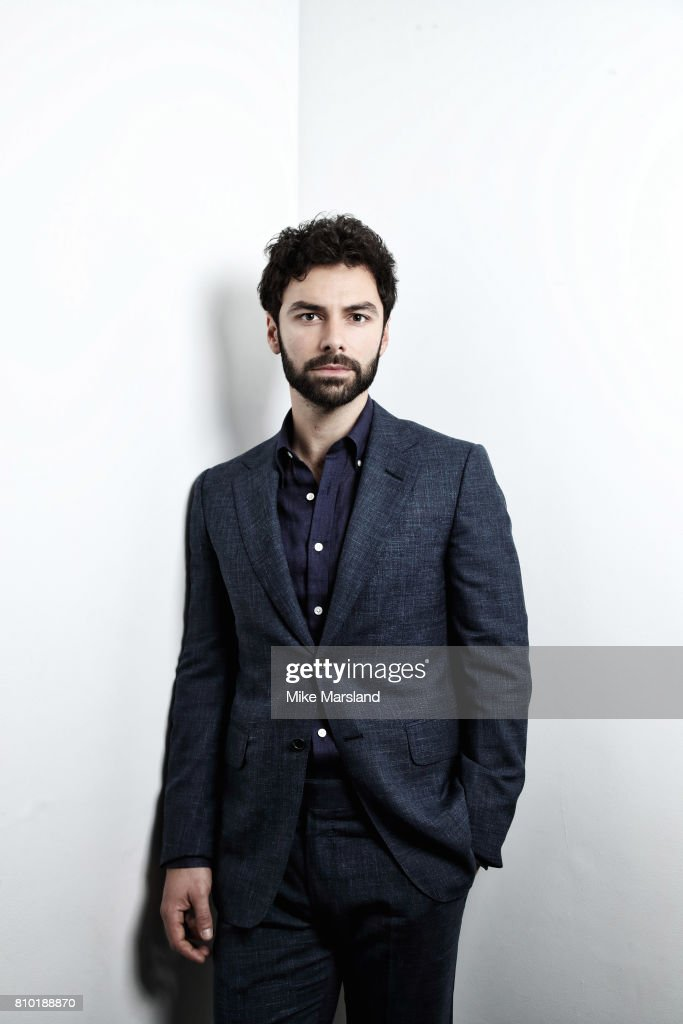 Actor Aidan Turner is photographed on June 9, 2017 in London, England.
