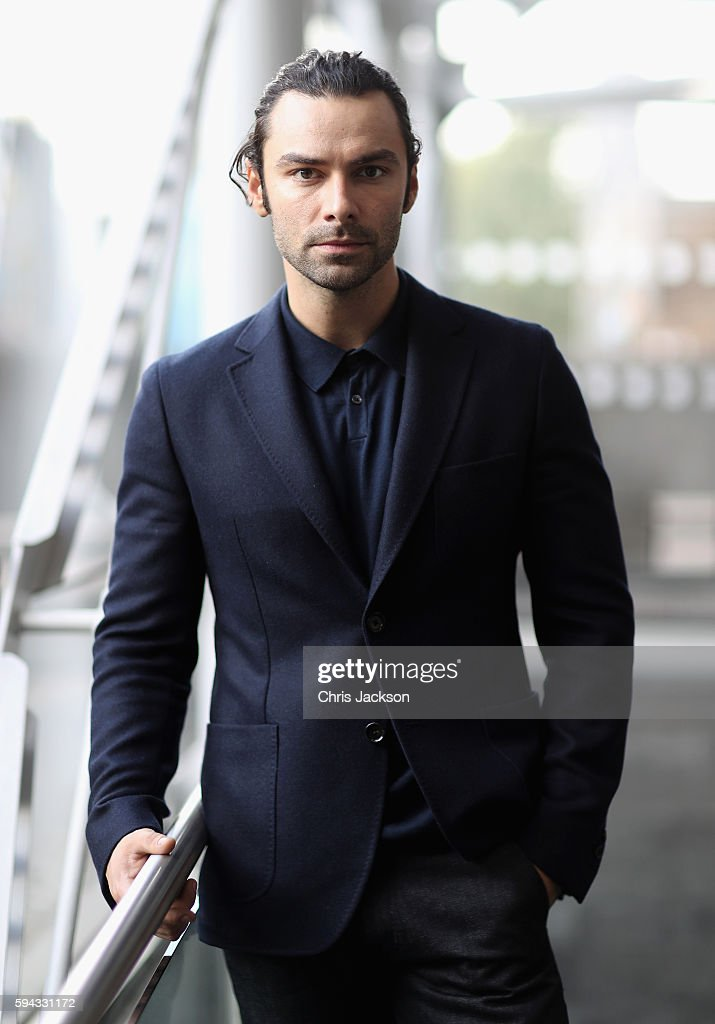 Actor Aidan Turner poses for a portrait at the Poldark Series 2 Preview Screening at the BFI on August 22, 2016 in London, England.