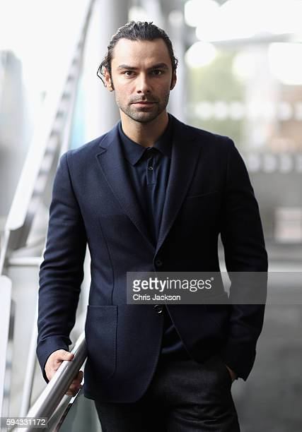 Actor Aidan Turner poses for a portrait at the Poldark Series 2 Preview Screening at the BFI on August 22 2016 in London England