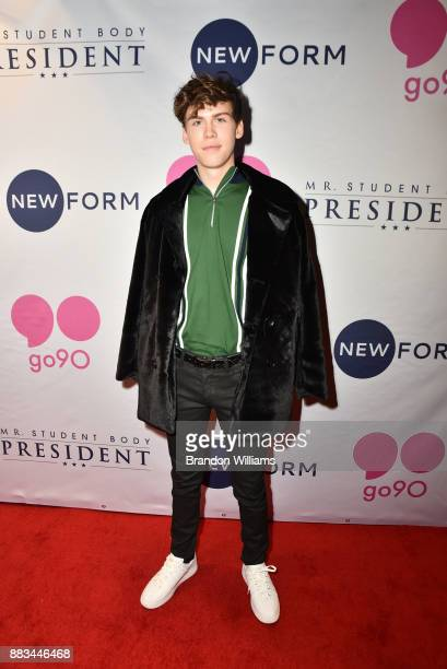 Actor Aiden Alexander attends the premiere for Go90's 'Mr Student Body President' at TCL Chinese 6 Theatres on November 30 2017 in Hollywood...