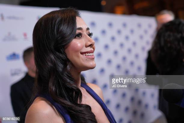 Actor Aimee Garcia attends the 20th Annual National Hispanic Media Coalition Impact Awards Gala at Regent Beverly Wilshire Hotel on February 23 2018...