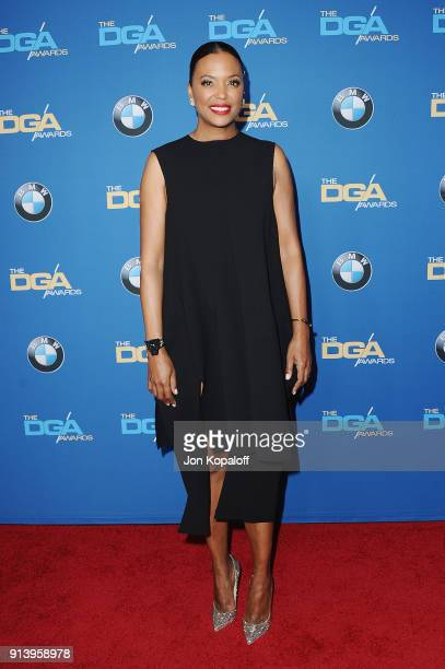 Actor Aisha Tyler attends the 70th Annual Directors Guild Of America Awards at The Beverly Hilton Hotel on February 3 2018 in Beverly Hills California