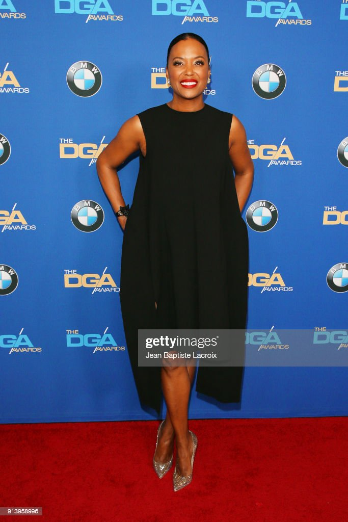 Actor Aisha Tyler attends the 70th Annual Directors Guild Of America Awards at The Beverly Hilton Hotel on February 3, 2018 in Beverly Hills, California.