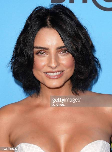 Actor Aislinn Derbez attends the premiere of Pantelion Films' 'Ya Veremos' at Regal Cinemas LA LIVE Stadium 14 on August 27 2018 in Los Angeles...