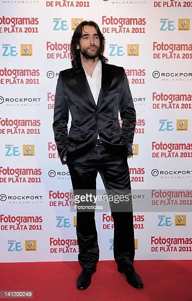 Actor Aitor Luna attends Fotogramas Awards at Joy Eslava on March 12, 2012 in Madrid, Spain.