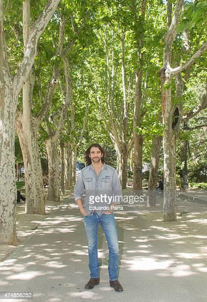 Actor Aitor Luna attends 'Matar el tiempo' presentation at Espana Square on May 27, 2015 in Madrid, Spain.
