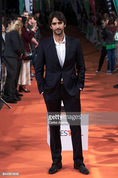 Actor Aitor Luna attends the 'La Catedral del Mar' premiere at the Principal Teather during the FesTVal 2017 on September 8 2017 in VitoriaGasteiz...