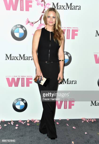 Actor AJ Cook attends the Women in Film 2017 Crystal Lucy Awards Presented by Max Mara and BMW at The Beverly Hilton Hotel on June 13 2017 in Beverly...