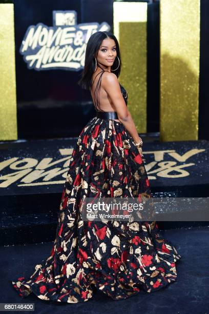 Actor Ajiona Alexus attends the 2017 MTV Movie And TV Awards at The Shrine Auditorium on May 7 2017 in Los Angeles California