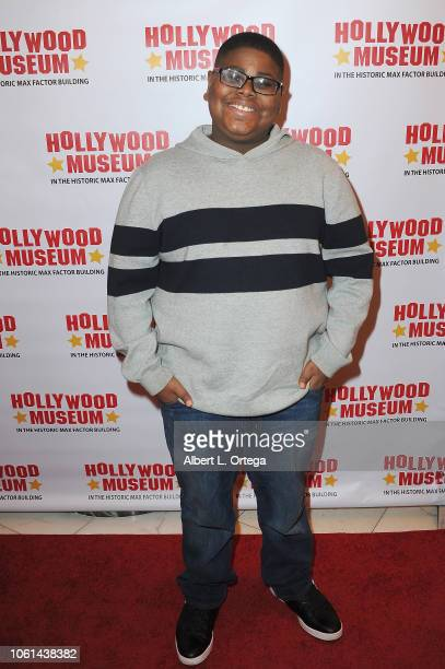 Actor Akinyele Caldwell arrives for the 20th Century Superhero Legends Exhibit 'Dedicated To Fighting Evil' Opening Night Ceremony held at The...