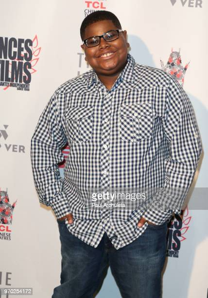 Actor Akinyele Caldwell attends the 2018 'Dances With Films' premiere of 'Reach' at TCL Chinese 6 Theatres on June 8 2018 in Hollywood California