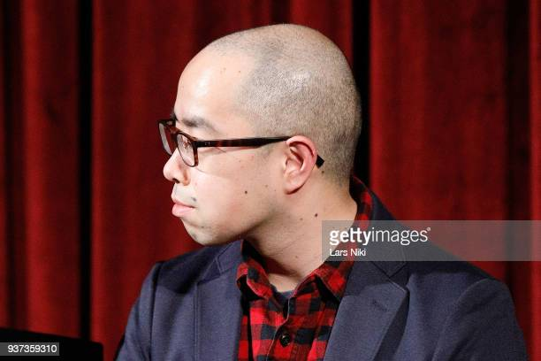 Actor Akira Ito on stage during The Academy of Motion Picture Arts Sciences Official Academy Screening of Isle of Dogs at the MOMA Celeste Bartos...