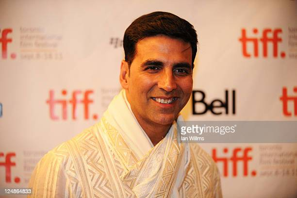 Actor Akshay Kumar arrives at 'The Breakaway' Premiere at The Elgin during the 2011 Toronto International Film Festival on September 10 2011 in...
