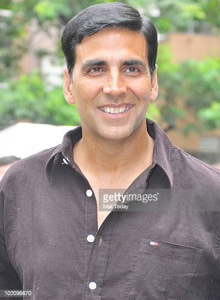 Actor Akshay Kumar at a press conference announcing him as 'MANAPPURAM' Finance brand ambassador in Mumbai on June 14 2010