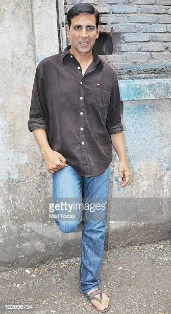 Actor Akshay Kumar at a press conference announcing him as MANAPPURAM Finance brand ambassador in Mumbai on June 14 2010