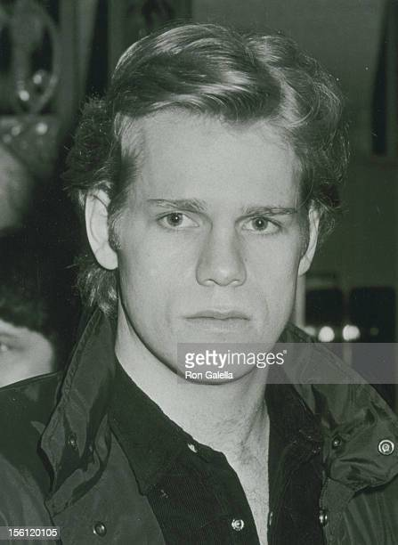 Actor Al Corley attending 39th Birthday Party for Bo Hopkins on February 7 1981 at the Continental Hyatt Hotel in Century City California