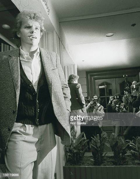 Actor Al Corley attending 'Aaron Spelling Party for Dynasty' on March 28 1982 at the Beverly Hills Hotel in Beverly Hills California
