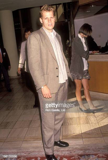 Actor Al Corley attends the ABC Summer TCA Press Tour on July 20 1991 at Universal Hilton Hotel in Universal City California