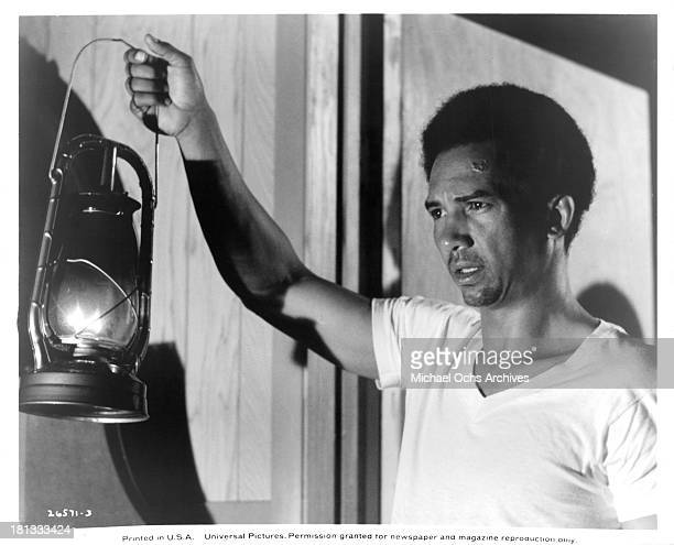 Actor Al Freeman Jr on the set of the Universal Pictures movie My Sweet Charlie in 1970