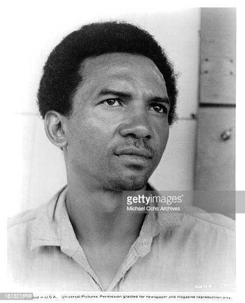 Actor Al Freeman Jr poses on the set of the Universal Pictures movie My Sweet Charlie in 1970