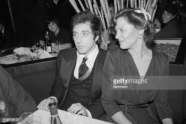 Actor Al Pacino and actress Christine Lahti flash a pair of smiles Oct 16th after the New York premiere of their new film 'And Justice For All' They...