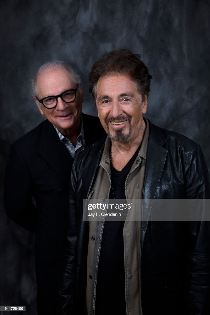 Al Pacino and Barry Levinson, Los Angeles Times, April 5, 2018