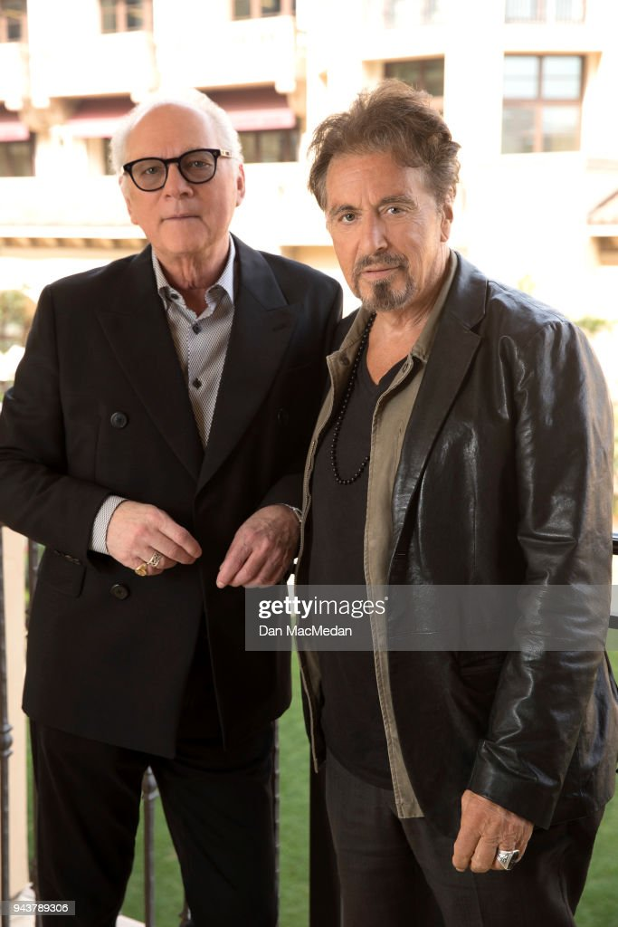 Al Pacino and Barry Levinson, USA Today, April 5, 2018