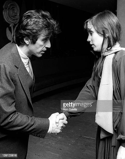 Actor Al Pacino and fan attend Actor's Studio Struttin' Masked Ball on October 25 1978 at Roseland Ballroom in New York City