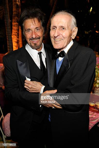 Actor Al Pacino and Jack Kevorkian attend HBO after party for the 62nd Primetime Emmy Awards at Pacific Design Center on August 29, 2010 in West...