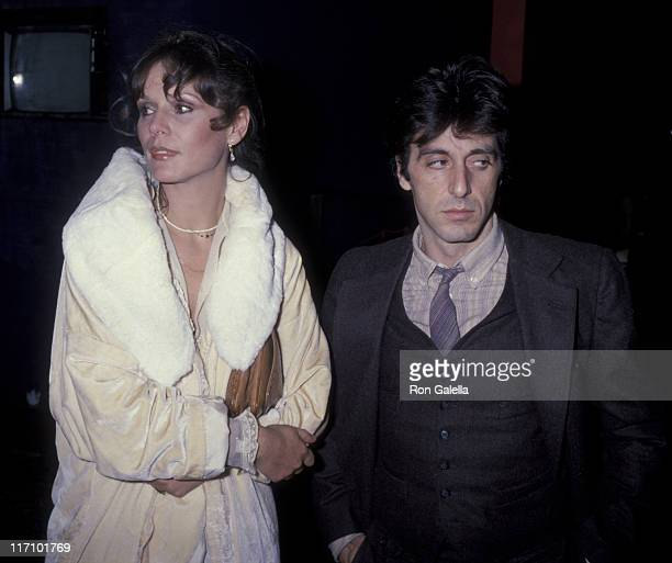 Actor Al Pacino and Martha Keller attend Actor's Studio Masked Ball on October 25 1978 at Roseland in New York City