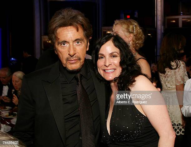 ACCESS** Actor Al Pacino and Roberta Pacino in the audience during the 35th AFI Life Achievement Award tribute to Al Pacino held at the Kodak Theatre...