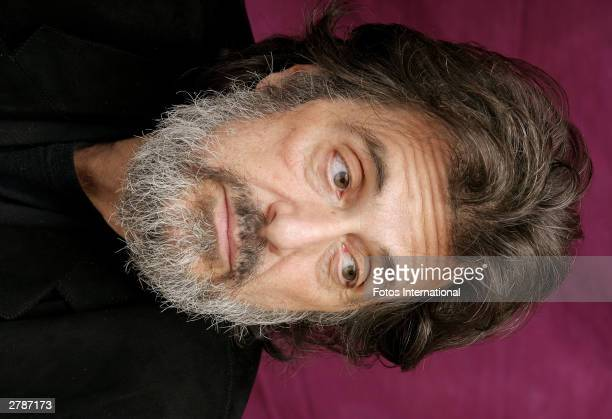 OUT*** Actor Al Pacino answers questions from the press at a junket for his new film Angels in America at The Rhiga Royal Hotel November 2 2003 in...