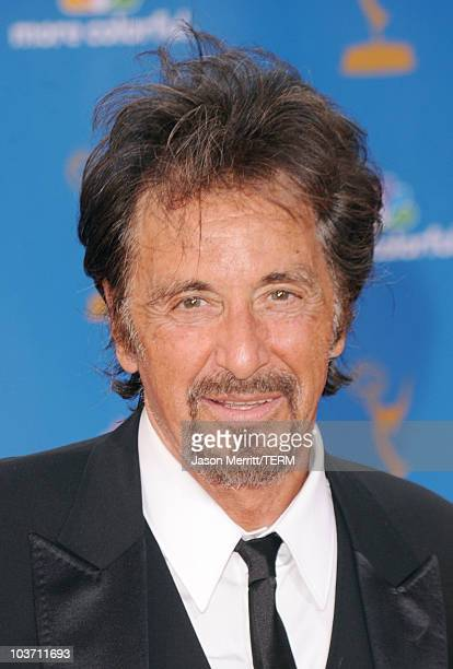 Actor Al Pacino arrives at the 62nd Annual Primetime Emmy Awards held at the Nokia Theatre LA Live on August 29 2010 in Los Angeles California