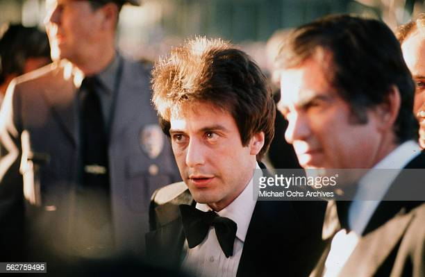 Actor Al Pacino arrives to the 46th Academy Awards at Dorothy Chandler Pavilion in Los AngelesCalifornia