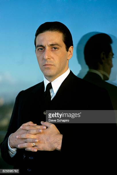 Actor Al Pacino as Michael Corleone in the Godfather part II 1974