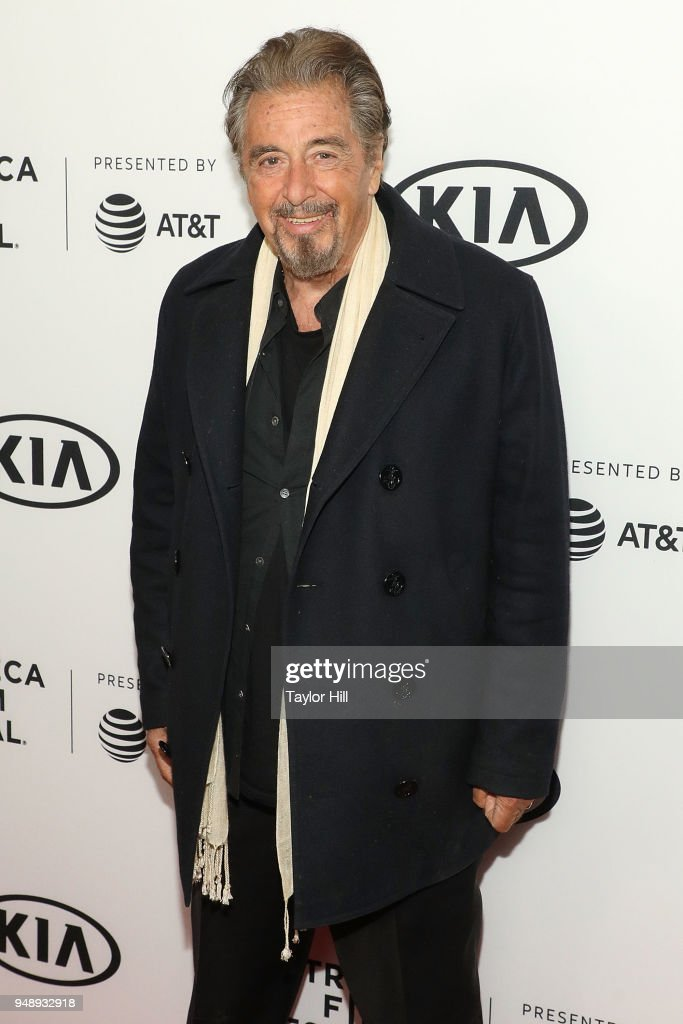 Actor Al Pacino attends a screening of 'Scarface' during the 2018 Tribeca Film Festival at Beacon Theatre on April 19, 2018 in New York City.