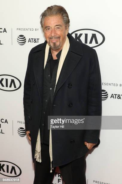 Actor Al Pacino attends a screening of 'Scarface' during the 2018 Tribeca Film Festival at Beacon Theatre on April 19 2018 in New York City