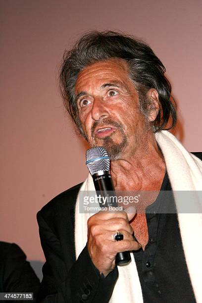 Actor Al Pacino attends the 9th annual Los Angeles Italia Film Fashion and Art Fest opening night ceremony held at the TLC Chinese 6 Theatres on...