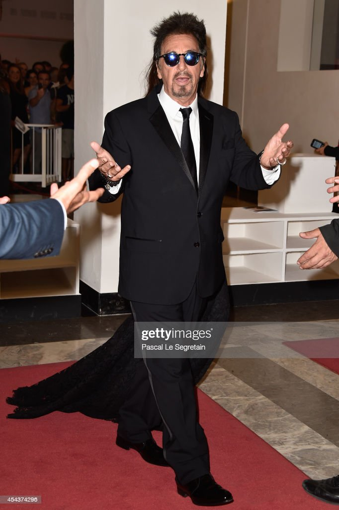 Actor Al Pacino attends the 'Manglehorn' - Premiere during 71st Venice Film Festival on August 30, 2014 in Venice, Italy.