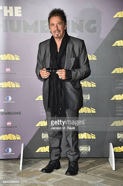 Actor Al Pacino attends the Mimmo Rotella Award during the 71st Venice Film Festival on August 29 2014 in Venice Italy