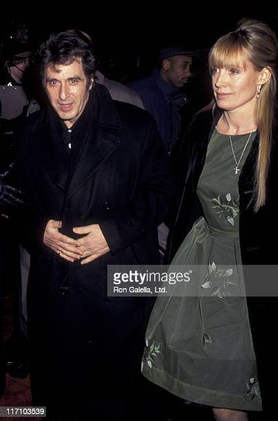 Actor Al Pacino attends the premiere of 'City Hall' on February 5 1996 at the Ziegfeld Theater in New York City