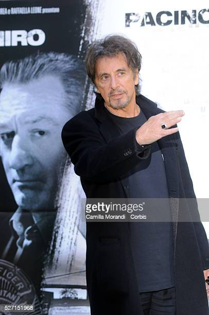 Actor Al Pacino attends the premiere of 'Righteous Kill' in Rome