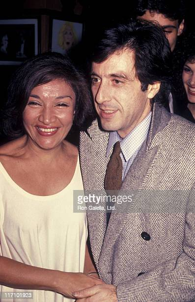 Actor Al Pacino attends the premiere party for 'Scarface' on December 1 1983 at Sardi's Restaurant in New York City