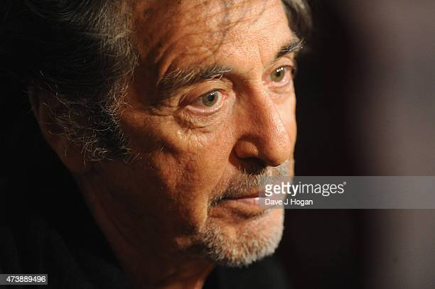 Actor Al Pacino attends the UK Premiere of 'Danny Collins' at the Ham Yard Hotel on May 18 2015 in London England