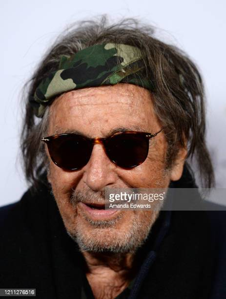 Actor Al Pacino attends the VIP post show reception with Al Pacino benefiting SCLA Veterans In Art and NAVSO at Via Porto on March 08 2020 in Beverly...