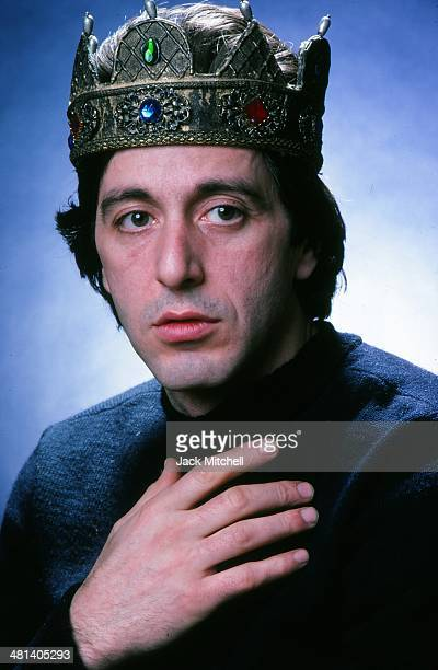 Actor Al Pacino in 1979 when he was starring in 'Richard III' on Broadway
