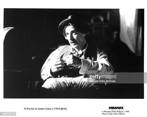 Actor Al Pacino in a scene from the Miramax movie Two Bits circa 1995